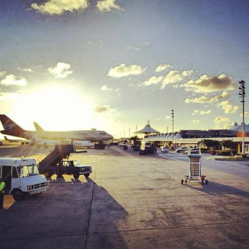 #barbados #grantleyadamsinternationalairport #aviation #barbadosairport #travel #trip #bridgetown #virginatlantic #Boeing