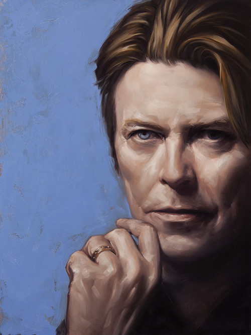 magicfran:  David Bowie by Dave Palumbo