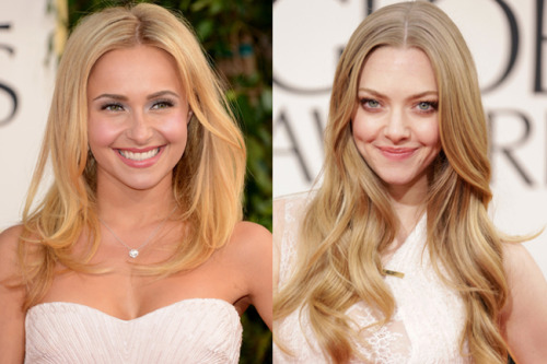 Hayden Panettiere and Amanda Seyfried were both visions of pink perfection at the 2013 Golden Globes, but which star's makeup look would you like copy? Vote now in our latest Beauty Battle!