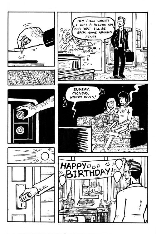 chasingcomics:  The Man Who Lives Alone   This is slightly creepy but also soo romantic :)