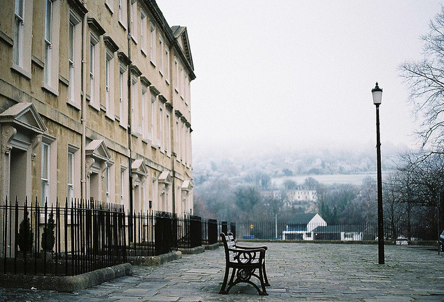 | ♕ |  winter morning - Bath, UK  | by © thom♥