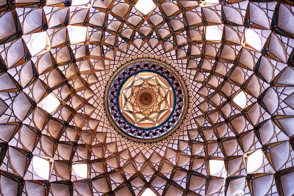 turnontuneoutdropin:  travelingcolors:  Ceilings of Persia (by skynet)  Speechless.