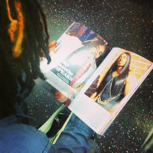 Morning read #f train