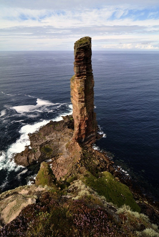 Old man of Hoy, Orkney Islands, Scotland. Photo: Albert Miguel