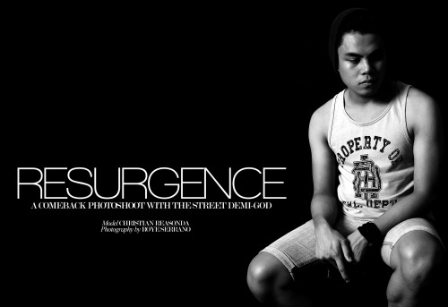 Resurgence. A teaser from today's comeback photoshoot with the street demi-god. Full photoset will be posted tomorrow!