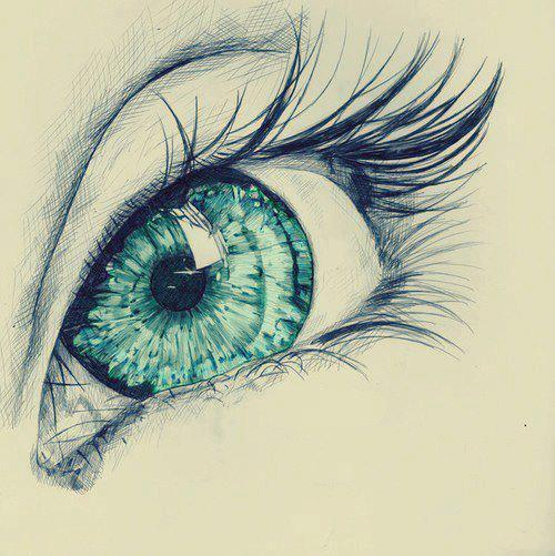 brutalgeneration:  drawing, eye - inspiring picture on Favim.com on We Heart It - http://weheartit.com/entry/47677052