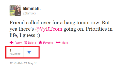 VyRT approves of me pushing away my social life. Cheers to that! :)