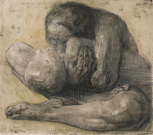 nuclearharvest:  Mother and Dead Child by Kaethe Kollwitz