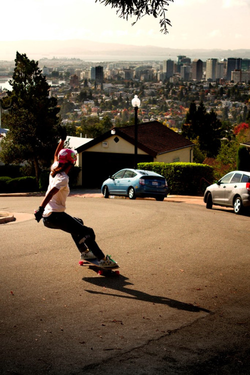 longlivin:  Blake Smith took this photo while we were having a blast skateboarding the Bay Area of California !