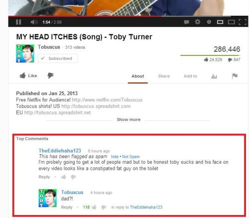 This is why I love this man!!!  Troll those haters Toby!!! #kill them with your awesome
