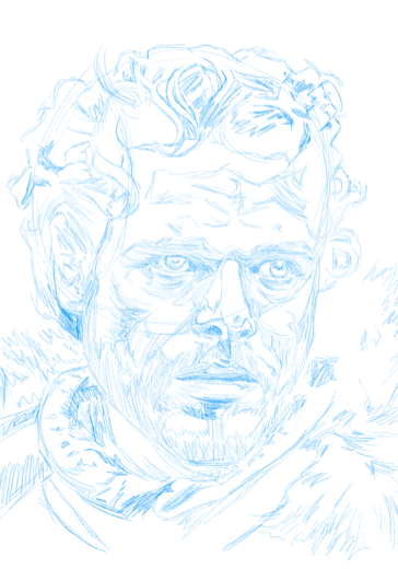 Current work in progress, Robb Stark, as played by Richard Madden on HBO's Game of Thrones