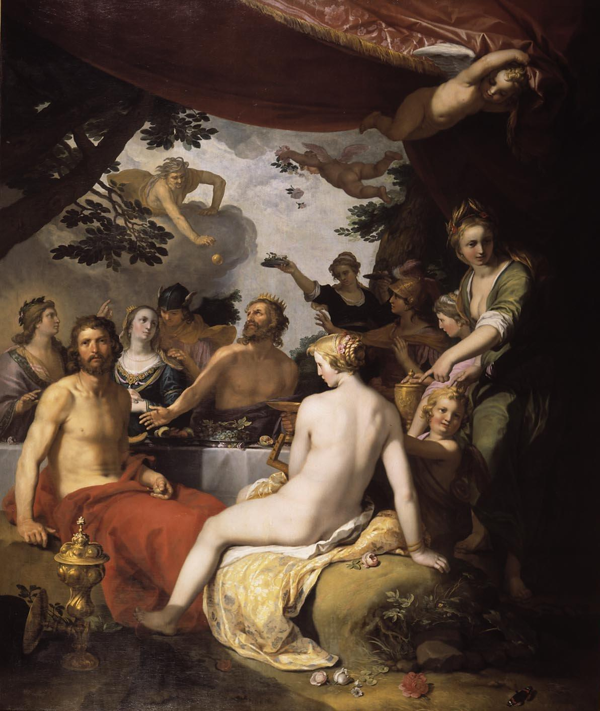 thisblueboy:  Abraham Bloemaert (Dutch, 1564-1651), Wedding of Peleus and Thetis, 1638