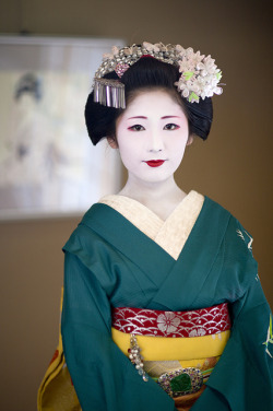 Sayaka as a Maiko back in 2010