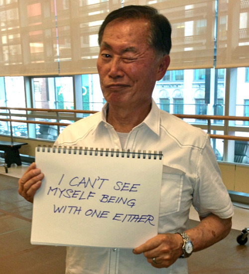 tf2maelgwyn:  buzzfeedceleb:  George Takei responds to fans of traditional marriage.  Mr Takei, I would marry you in a heart beat