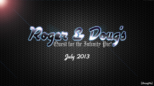 Roger & Doug's Quest for the Infinity Pie! on Flickr.Via Flickr: Coming this July! Roger and Doug will be suiting up in an action packed mini project!