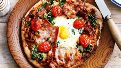 vehementventurer:  Breakfast Pizza.