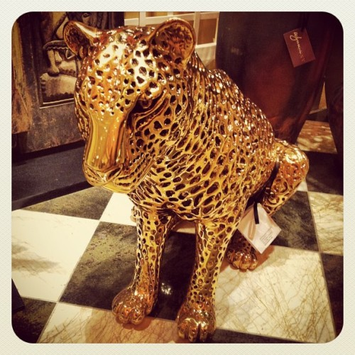 Golden Leopard for sale at the #wynn #gold #buyshityoudontneed