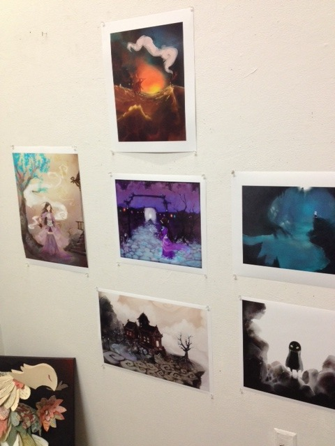most of my illustrations for this semester on the wall… we set up our catalogue spreads for the senior thesis exhibit today too, I'm excited~ project wings is down there too taking a break from all the moving around, which reminds me, I hadn't placed the good news here when it happened, but we reached the finals for the arts of respect! i presented it the other night and people really enjoyed and appreciated looking at it. i'd say it was a job well done so i'm really happy for the turnout lastly, two of my charcoal works from last year (monsters and asunder at my wix webpage) were accepted into this year's insanity's horse art magazine! may 3rd is the senior thesis exhibit … still lots to be done (7/14 illustrations actually— i'm really slow at drawing)  -fox