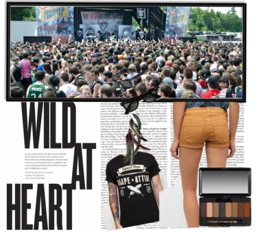 t-riot:  My outfit for warped tour!