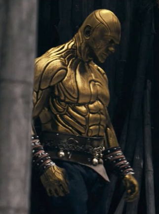 "Dave Bautista, who portrayed Brass Body in RZA's ""The Man With the Iron Fists,"" has reportedly beat out Jason Momoa and other contenders for the role of Drax the Destroyer in Marvel's ""Guardians of the Galaxy"": http://www.cityonfire.com/marvel-traverses-the-galaxy-with-its-latest-comic-adaptation"
