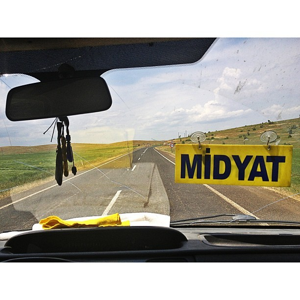 On the way. (at Midyat Otogar)