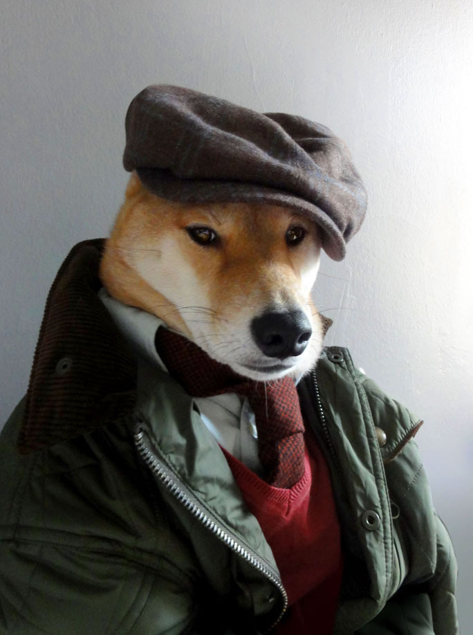 mensweardog:  Fly Fox Hunting Quilted Bomber Jacket: Ralph Lauren (Cadwell)  |  Oxford Shirt: Gant Rugger  |  Tie: Dibi  |  Sweater: Vintage |  Cap: Stetson not shown:  Trousers: Rogue Territory  |  Belt: Tanner Goods  |  Shoes: Allen Edmonds x FSC Kenilworth