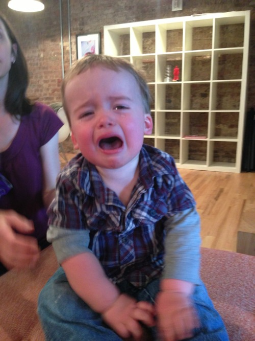 Website of the day: Reasons My Son is Crying One dad with a camera and a baby that cries over everything, because little kids aren't all that bright. Link