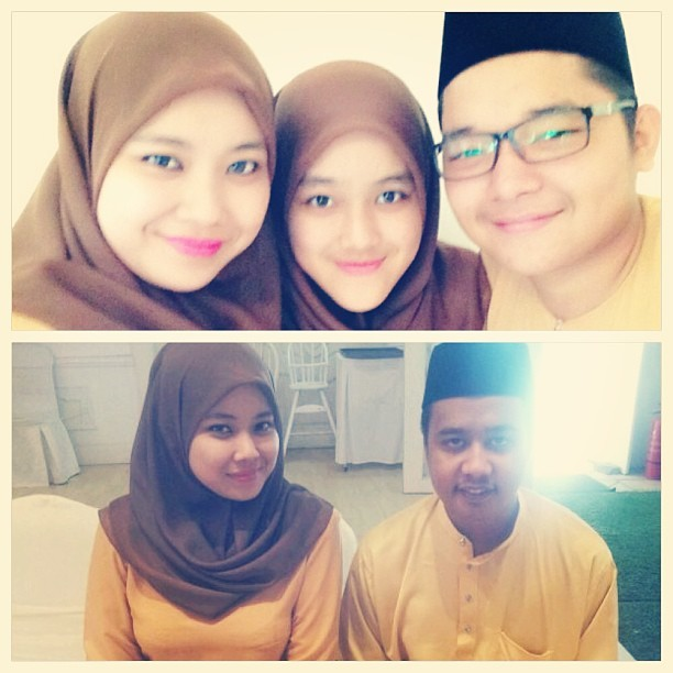 Solemnization. #mysisterswedding #akadnikah #solemnization #bestmemoriesever #bridesmaid #siblings (at Duchess Place)