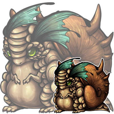 ryouven:  Shaded dragon snails! The shell too a majorly long while since it's something different for a change! Going to start coloring premades when I can.  Will you has psds? -puppyeyes-