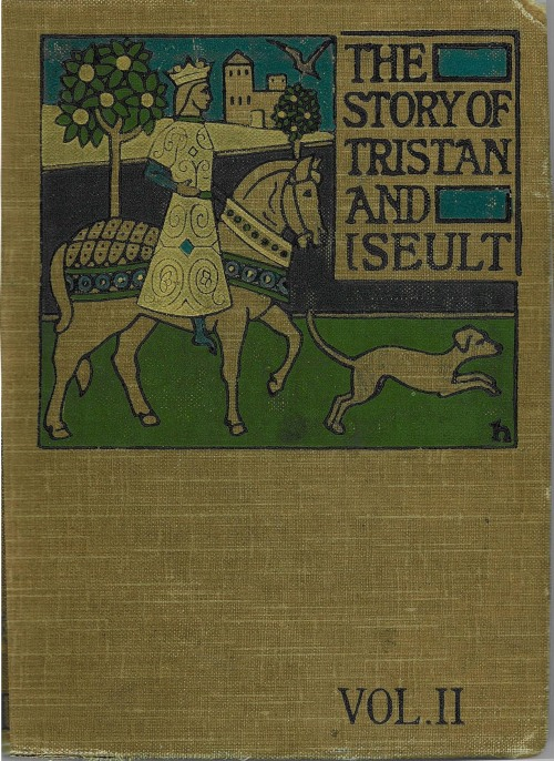 The story of Tristan & Iseult / rendered into English from the German of Gottfried von Strassburg by Jessie L. Weston ; with designs by Caroline Watts. Published: London : D. Nutt, 1907.