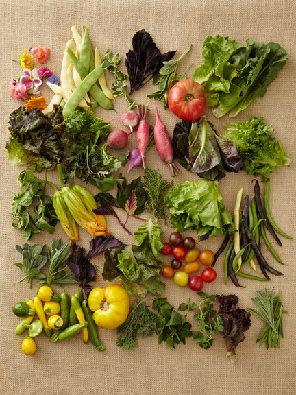 thevegetablemarket:  Fresh Vegetables via Gilt Taste