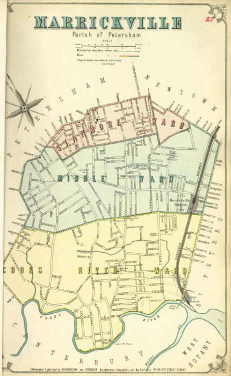 Atlas of the Suburbs of Sydney - Marrickville A 1886-1888