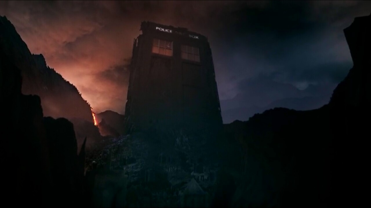 "doctorwho:  ""When a TARDIS is dying… it grows."""