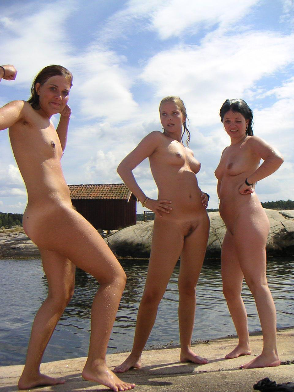 Swedish family nudists girls
