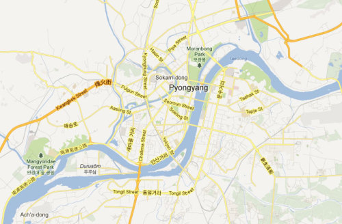 shortformblog:  discoverynews:  Google Maps North Korea Details of cities and even prison camps in North Korea became more visible on Tuesday when Google updated its Google Maps application to include information citizen cartographers have been providing it about the country through a crowdsourcing development program called Map Maker. Read more…  Good work, Google. The more this info is out there, the more people will pay attention to this issue.