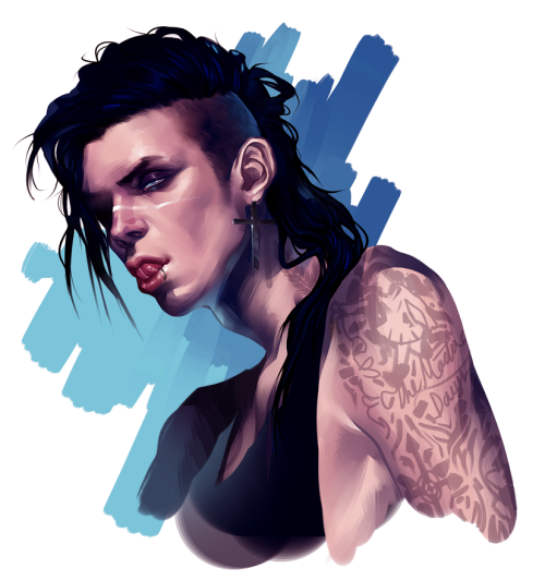 skoptsy:  Andy Biersack speedpaint I did at the beginning of the month, enjoy! ❤