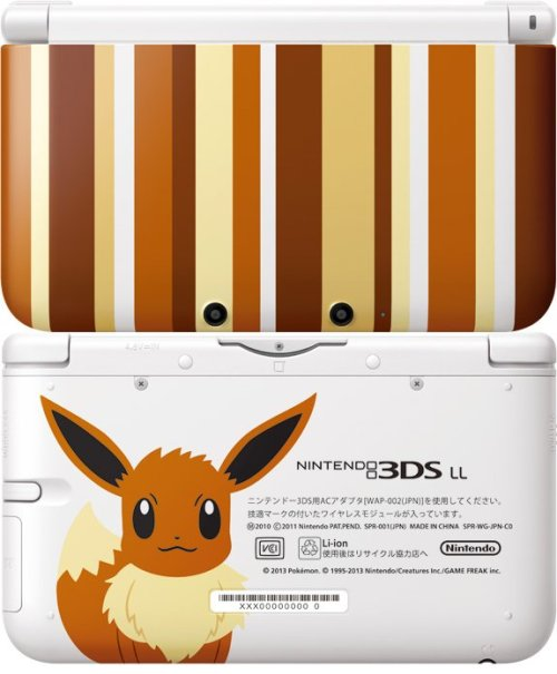 gamefreaksnz:  Special Eevee Edition 3DS XL releasing in Japan  Nintendo has officially revealed a special Eevee Edition 3DS XL due for release next month via Pokémon Centres across Japan.  When is it out in the US???????  O.o i must have