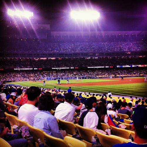 Beautiful night.  (at Dodger Stadium)