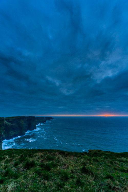 Cliffs of Moher, County Clare, Ireland  You have to follow this blog, it's really awesome!