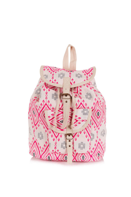 myshopping-bag:  Diamond Jacquard Backpack