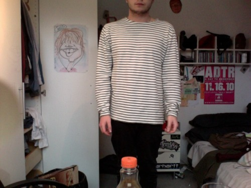 my new jumper arrived today and it feels like a tea towel