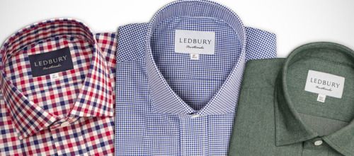 It's On Sale: Ledbury Shirts Gilt City National has a promotion for Ledbury right now, where you can purchase $150 worth of store credit for $75. Customers have a limit of using one coupon per transaction, but may purchase up to two coupons.   Note, Ledbury is an advertiser of ours, but I genuinely think they make nice, well-made shirts. The best part about them, in my opinion, is the slightly lower second button on the placket, where you'd button up the shirt. It allows you to wear the shirt a bit more casually without having to risk looking like a disco dancer. (Not that we have anything against disco dancers).  If you're not yet a member of Gilt, you can use our invite link here.