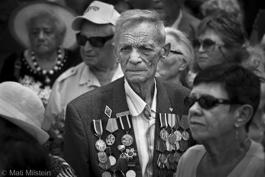 The Good Fight  A veteran of the Soviet military who fought against Nazi Germany participates in a ceremony near Tel Aviv, Israel, recognizing Soviet soldiers and World War II partisan fighters.