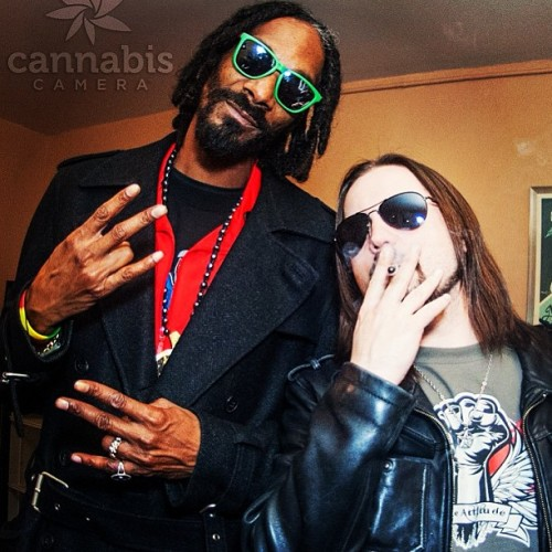 Backstage with @snoopdogg at the @hightimesmagazine #cannabiscup  (at Fillmore Auditorium)