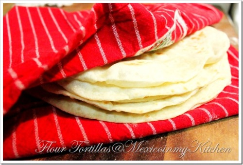 Making flour tortillas…