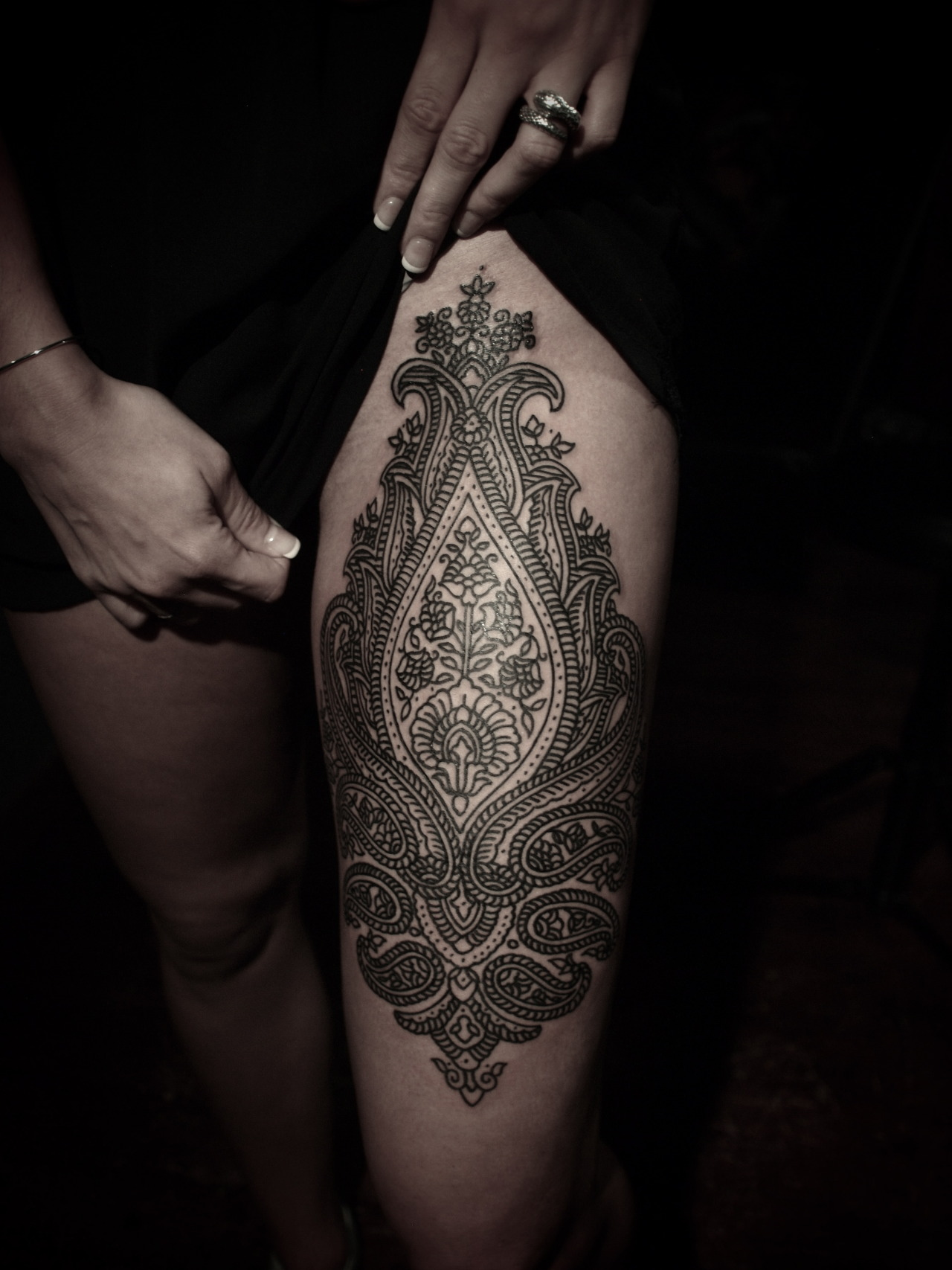 guyletatooer:  Done on Sophie .
