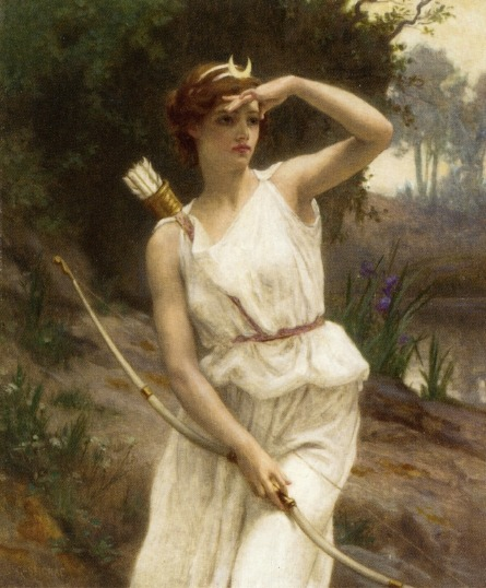 sadsapling:  Diana the Huntress, by Guillaume Seignac (1870-1929)