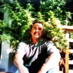 My dad back in the day :) #Ganja #Backyard