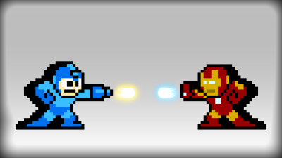 Megaman VS Ironman