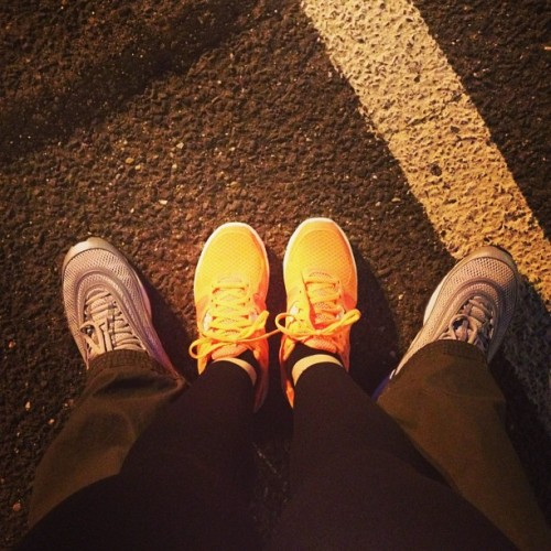 @_rubywoome #fresh #outwithmylady #nike #airmax #sneakers #kicks #respecttheflyshit #igdaily #igsneakercommunity #styling #getlikeus #jealous #hatersgonnahate #fashion #sneakergamecrazy #couple #happy (at MacDaddy's Macaroni & Cheese Bar)